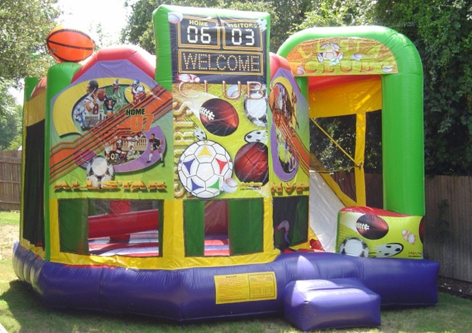 Sports 5 in1 Bounce House Rental 613 695 5867