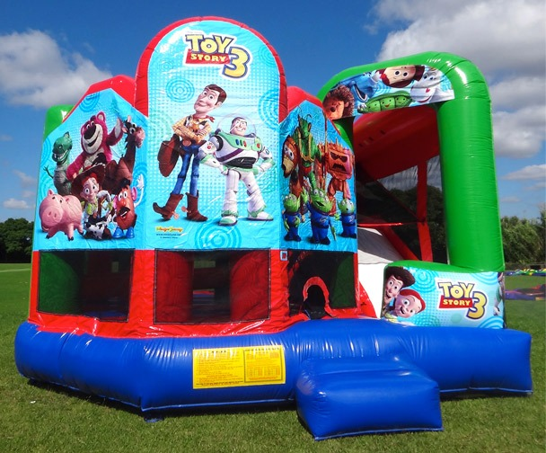 Toy Story 5 in1 Bounce House Combo Live compressed