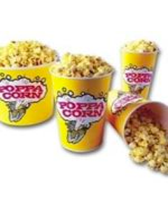 Popcorn tubs for sale