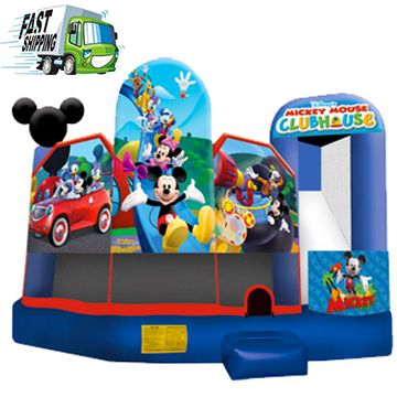 Mickey Mouse Bounce House Rental Residential