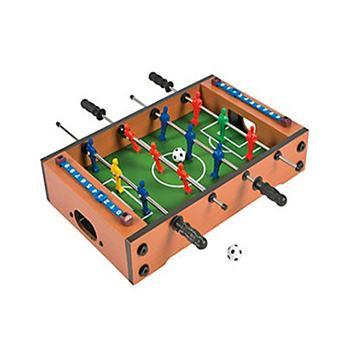 Wooden Mini Foosball Soccer Table Game