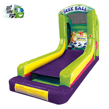 Skee Ball Carnival Game Rental