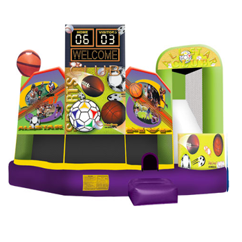 Sports 5 in1 Bounce House
