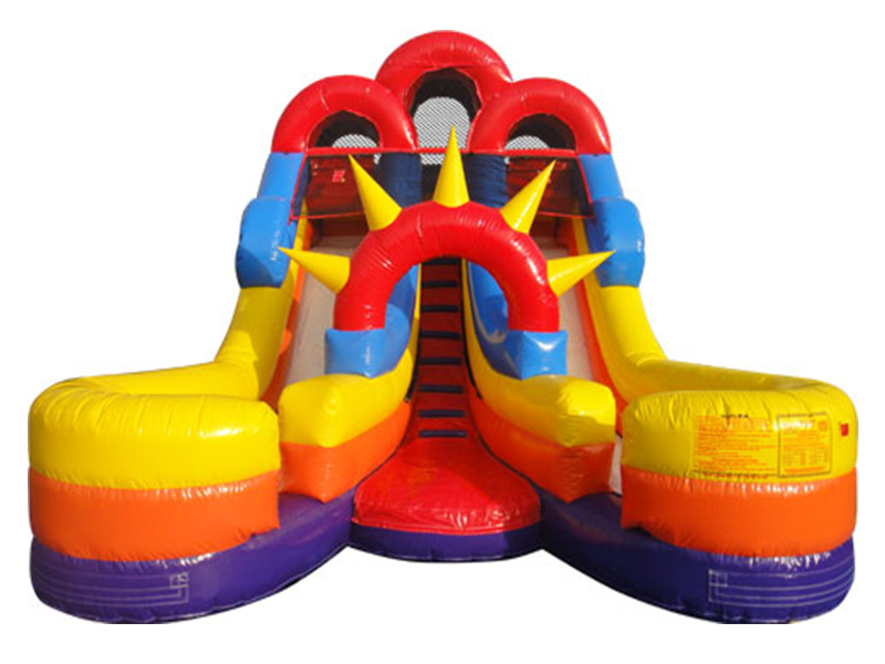 Double Splash Waterslide Rental