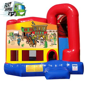 Bouncy Castle Rental  features a Slide and Bounce area. Rent this industrial quality amusement for your Party or Event.