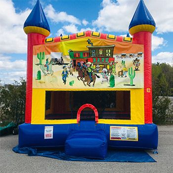 Western Large Bounce House