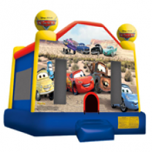 Cars Bounce House Rental (Daily Rate)