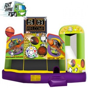 Bounce House Rental Sports Theme. Partytime Inflatables Ottawa, Ontario 613-695-5867