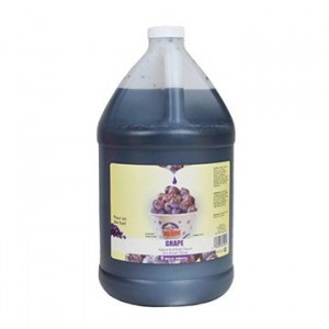 Grape Sno Kone Syrup 4L Jug