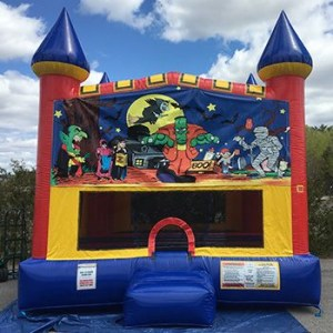 Halloween Large Bounce House Rental