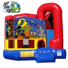 Halloween Bounce House Combo with Slide