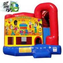 Fire Engine Bounce House Rental
