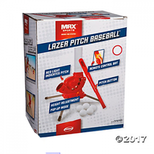 laser pitch baseball
