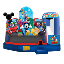 Mickey Mouse Bounce House Inflatable Slide