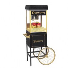 Popcorn Machine with Cart-compressed