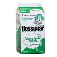 Sassy Apple Floss Sugar Carton
