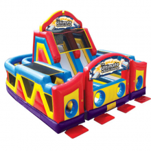 Ultimate Challenge Inflatable Obstacle Course