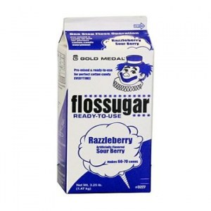 Razzleberry Sour Floss Sugar